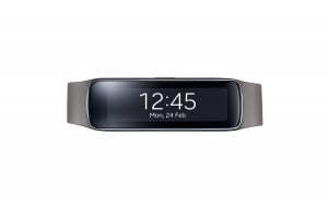 Samsung Gear Fit Test in Grau