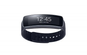 Samsung Gear Fit Test in Schwarz