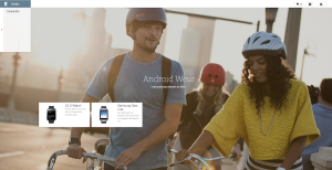 Android Wear bei Google