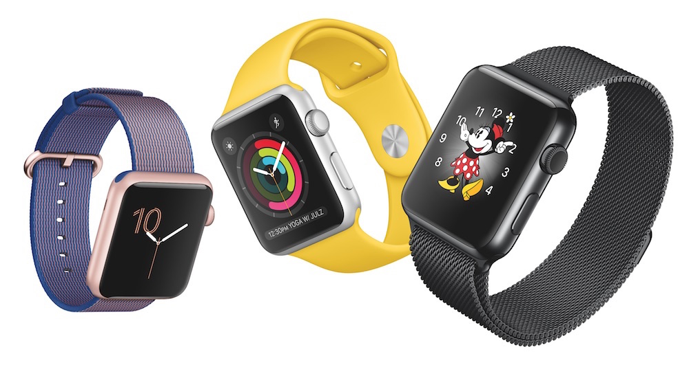 Bunte Apple Watch Sammlung